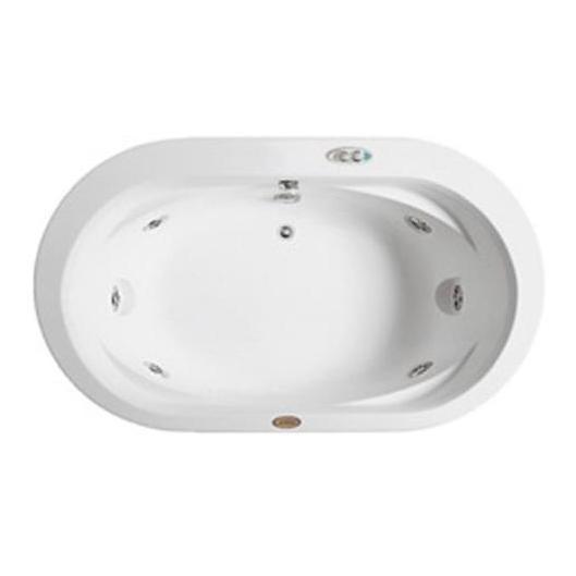 Ванна гидромассажная Jacuzzi OPALIA CORIAN, 195*115*h63 см