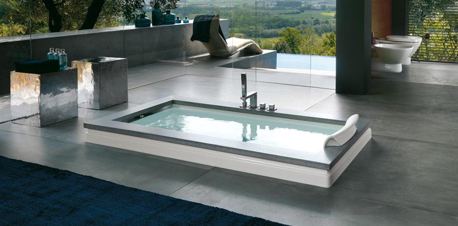 Ванна Jacuzzi Aura Uno Design Marble 9450