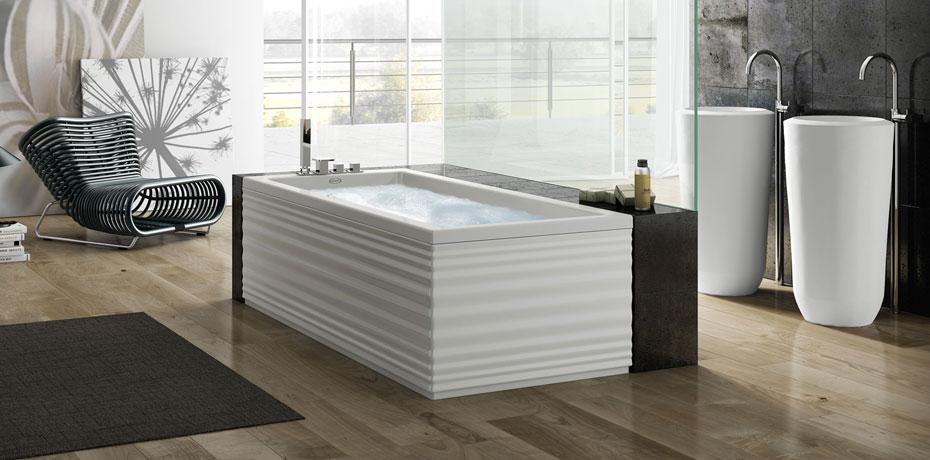 Ванна с наддувом Jacuzzi Moove Blower 180x80 9B50