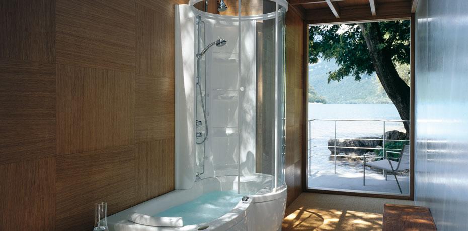 Ванна комбинированная Jacuzzi J.Twin Premium 9447, 170*70*h236 см