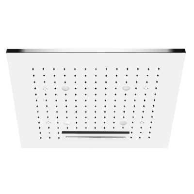 Потолочный душ Gessi Private Welness Minimali арт. 32948/238 с подсветкой, 350*350 мм