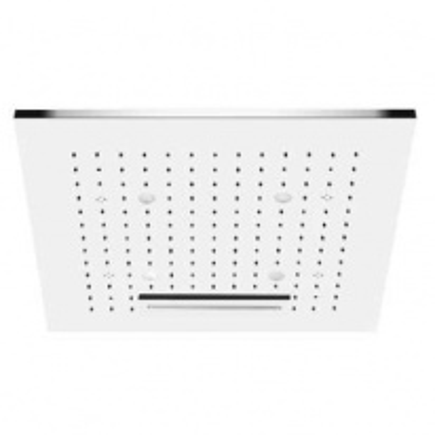 Потолочный душ Gessi Private Welness Minimali арт. 32927/238 с подсветкой, 500*500 мм