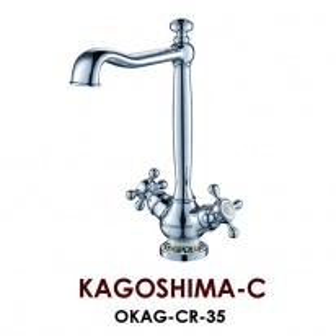 Смеситель Omoikiri Kagoshima-C OKAG-CR-35, арт. OKAG-CR-35