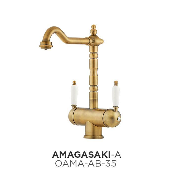 Смеситель Omoikiri Amagasaki-А OAMA-AB-35, арт. OAMA-AB-35