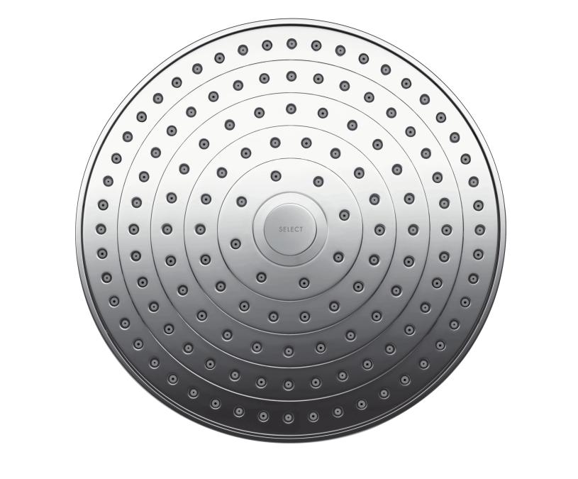 Верхний душ Hansgrohe Raindance Select S 240 2jet 26467400, хром, 243 мм
