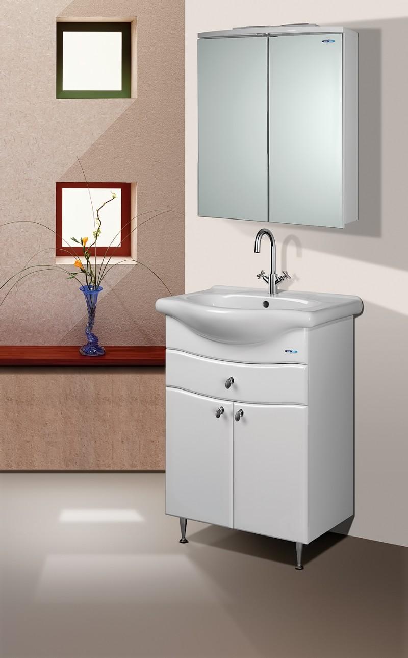 Комплект мебели для ванной комнаты Aqualife Design Астурия 50