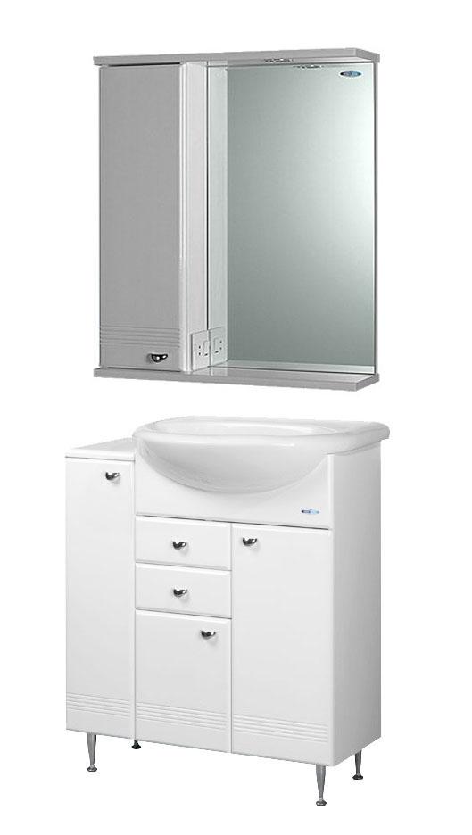 Мебель для ванной комнаты Aqualife Design Астурия 75 c приставным столом