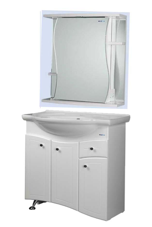 Комплект мебели для ванной Aqualife Design Андалузия 80