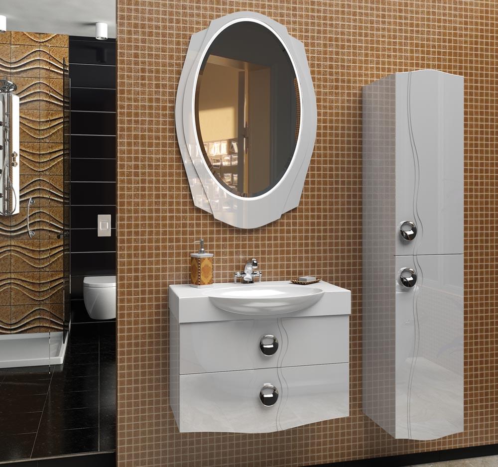 Комплект мебели для ванной Edelform Тоndo 75, арт. Tоndo/Тондо 75