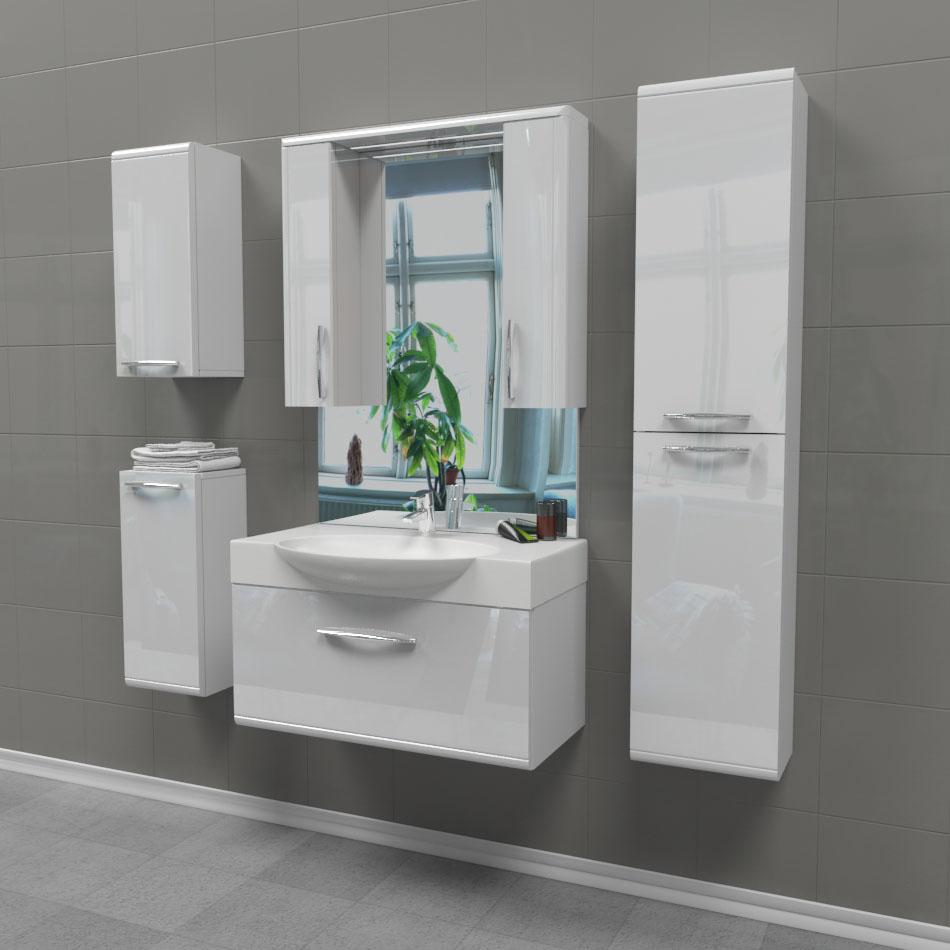 Комплект мебели для ванной Edelform Solo 75, арт. Solo/Соло 75