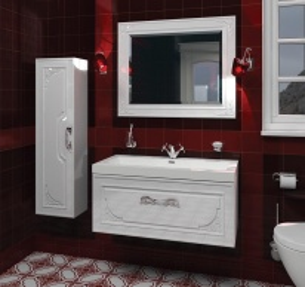 Комплект мебели для ванной Edelform Regale 100, арт. Regale/Регале 100
