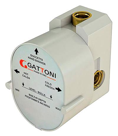 Монтажная коробка Gattoni GBOX SC05500 для смесителя