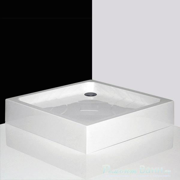 Душевой поддон Roltechnik COLA-P, арт. 8000022, квадратный, акрил, 80*80*17 см
