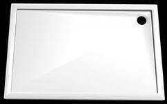 Душевой поддон Roltechnik Flat Kvadro арт. 8000121, 100*80*5 см