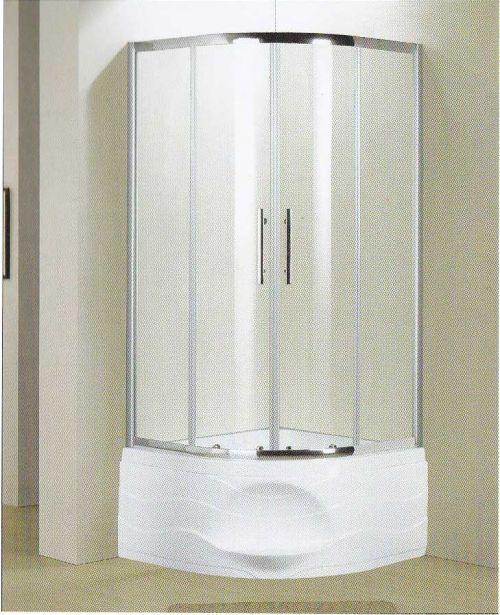 Душевой уголок Elegansa BK 549 90x90 см с поддоном