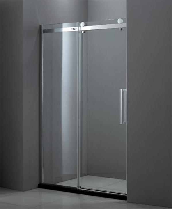 Душевая дверь в проем Cezares STYLUS-BF-1-130-C-Cr, профиль-хром/стекло прозрачное