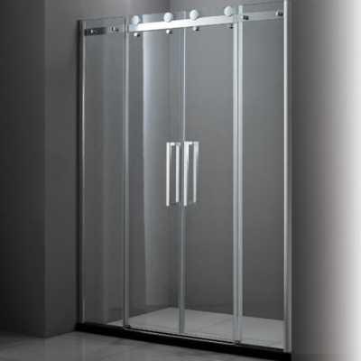 Душевая дверь в проем Cezares STYLUS-BF-2-150-C-Cr, профиль-хром/стекло прозрачное