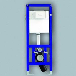 Инсталляция для унитаза Sanit 995N 90 750 00 с креплением, 118,5*52,5 см