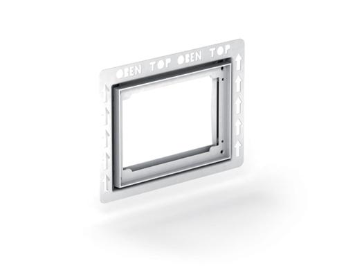 Монтажная рамка для клавиш MEPA/Orbit/Sun арт.421900, для А31/В31, для установки на уровне стены
