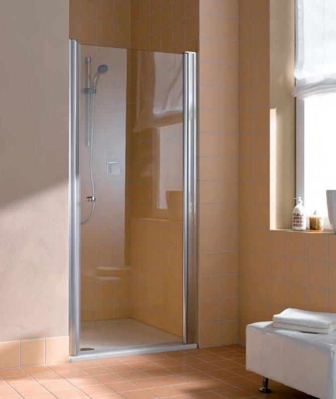 Душевая дверь Kermi Atea AT 1W 10018VAK, 100*185 см