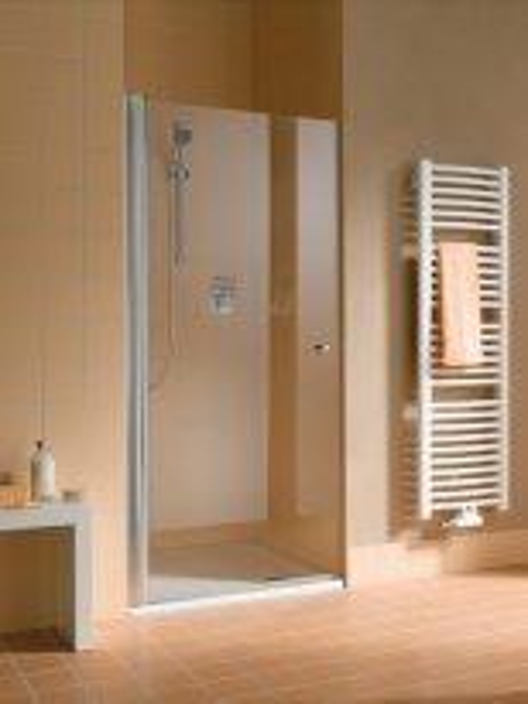 Душевая дверь Kermi Atea AT 1T 10018VAK, 100*185 см