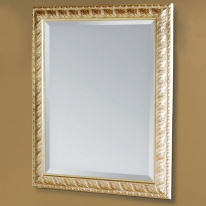 Зеркало Tiffany 334argento/oro, 79*96 см, цвет серебро/золото