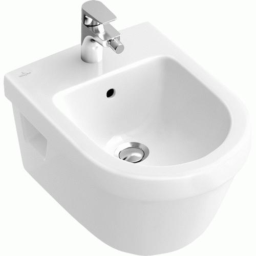 Биде подвесное Villeroy&Boch Omnia architectura Design арт. 5484 0001, 37*53 см, белый