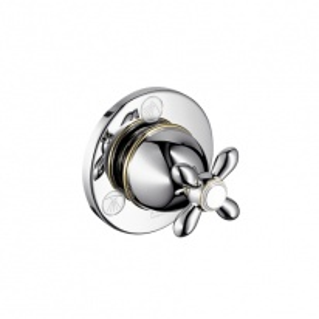 Вентиль Axor Carlton 17925000 запорно-переключающий