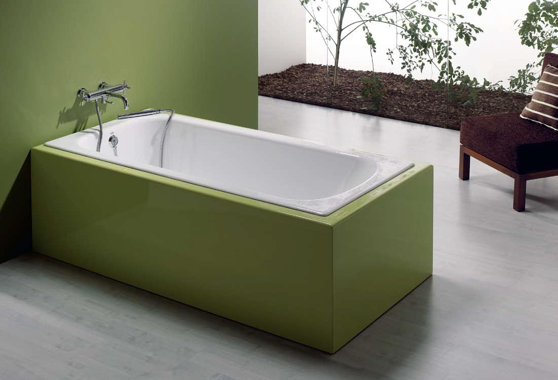 Ванна чугунная Recor Classic 170x75 с ножками