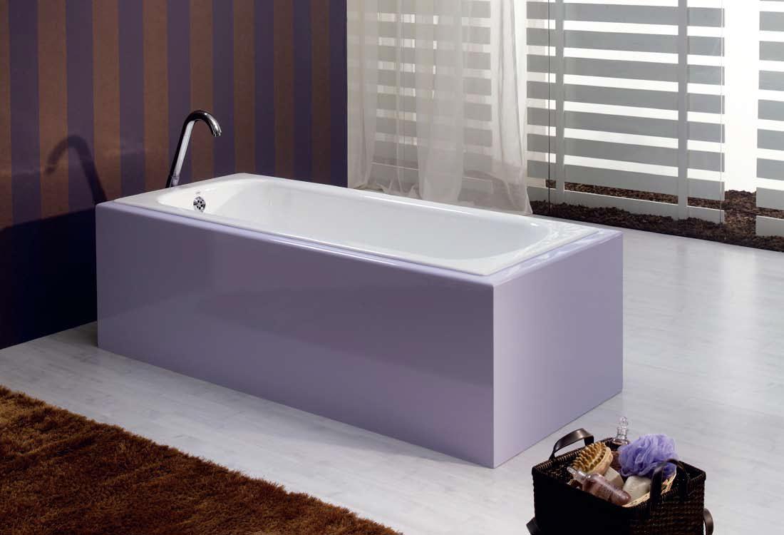Чугунная ванна Recor Vicky 150x70 с ножками