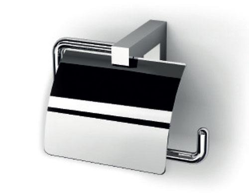 Держатель для туалетной бумаги IBB Xoni XO11С cr с крышкой