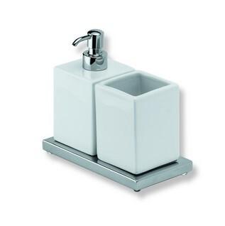 Дозатор жидкого мыла со стаканом  IBB Xoni XO16D cr