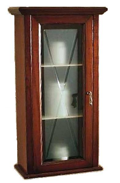 Шкаф подвесной Labor Legno MARRIOT M 0/7, L/R, с стеклянной вставкой 41*21*77 см