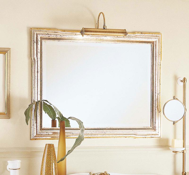 Зеркало Labor Legno в деревянной раме арт. HB 0/70 золото/серебро, 96*76*4 см