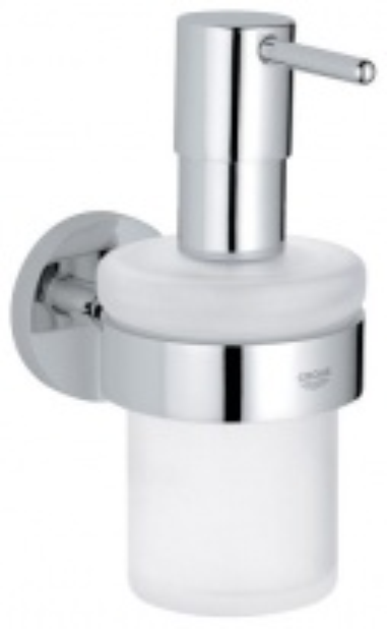 Дозатор для жидкого мыла Grohe Essentials 40394 с держателем 40369