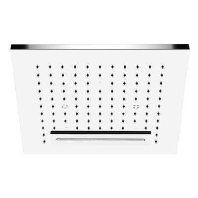 Потолочный душ Gessi Private Welness Minimali арт. 32947/238, наружная часть, 350*350 мм