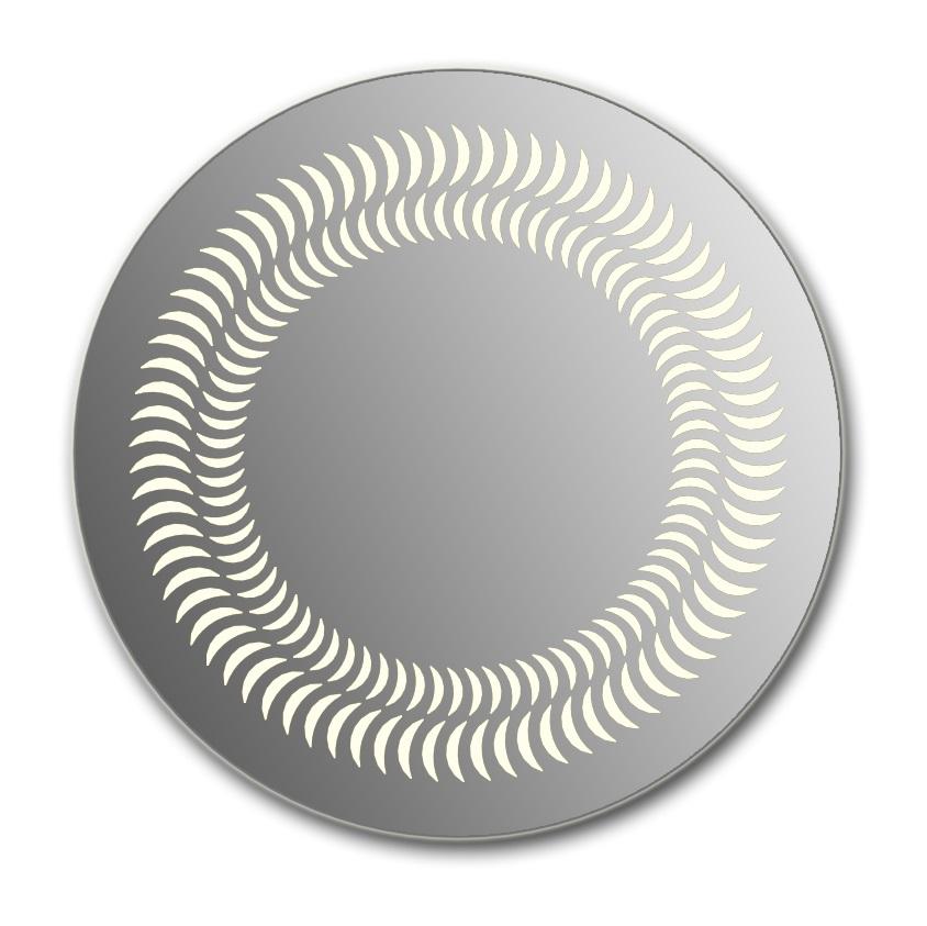 Зеркало Wenz Design D-luna круглое / без контурной подсветки
