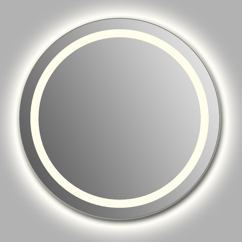 Зеркало Wenz Design D-ring-contour круглое / с контурной подсветкой