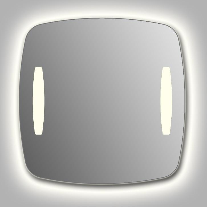 """Зеркало Wenz Design RR-classic-2V-contour-H форма типа """"RR""""/ c контурной подсветкой"""
