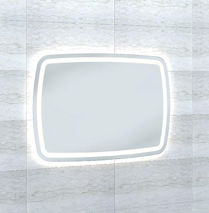 """Зеркало Wenz Design RR-strip-contour-H700 форма типа """"RR""""/ c контурной подсветкой"""
