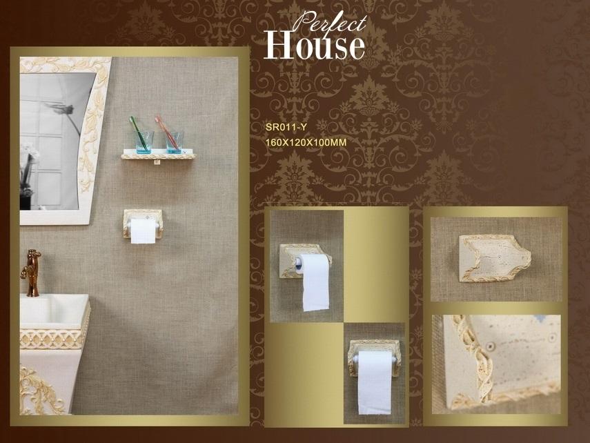 Бумагодержатель Perfect House SR011-Y
