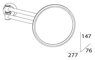 Косметическое зеркало FBS Vizovice VIZ 020