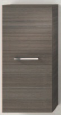 Шкаф подвесной Ipiemme EASY EACB01/DX/1410, 1 дверка DX, цвет Teak Grigio