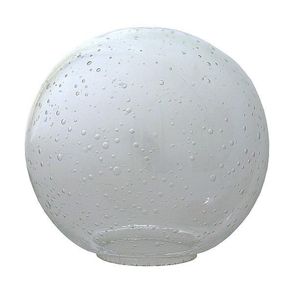 Стеклянный компонент для светильника FBS Universal UNI 019, белая капля
