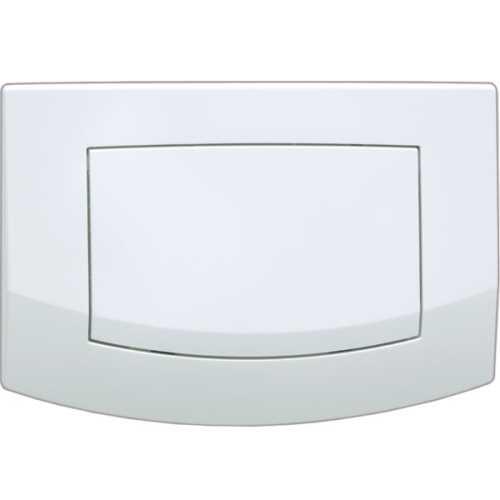 Панель Tece Ambia 9 240 140 с одной клавишей смыва, белый/антибактериальная