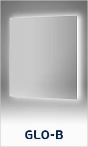 Зеркало Ellux Glow-B Led со встроенными светильниками GLO-B1 95