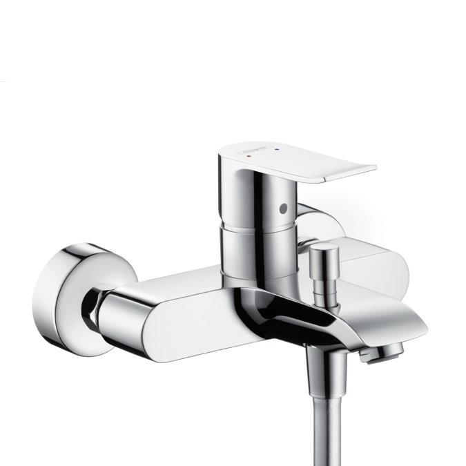 Смеситель Hansgrohe Metris 31480000 для ванны и душа