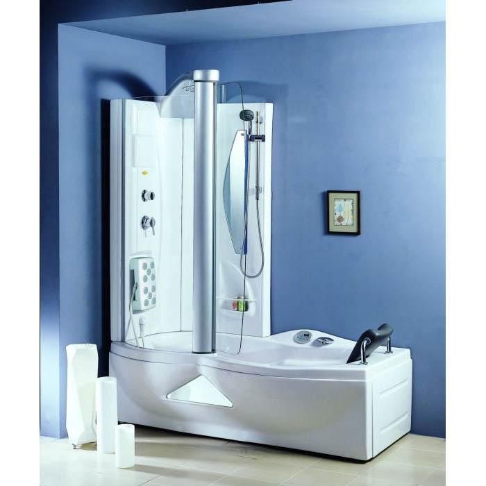 Гидромассажная акриловая ванна Appollo A-0822 177*85*217 см