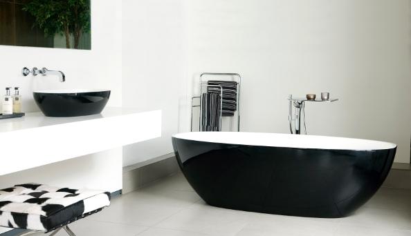 Ванна Victoria & Albert Barcelona BAR-N-BK, черная