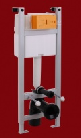 Система инсталляции Migliore Expert eve ML.EXE-27.664 для подвесного унитаза (крепление стена-пол, без панели и ручки)